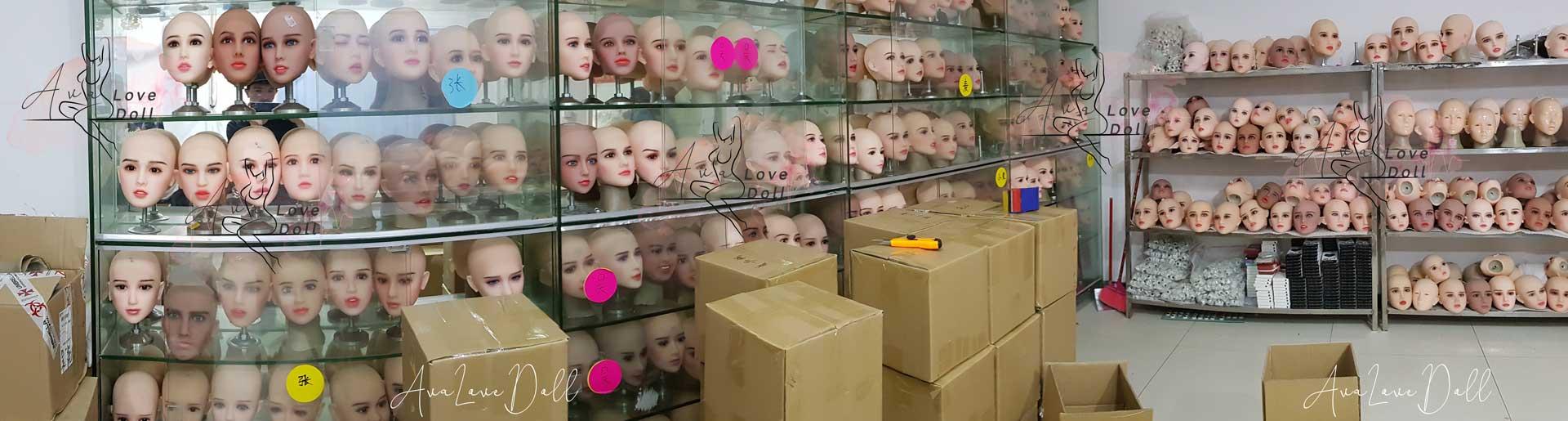Inside JY Doll factory TPE sexdoll