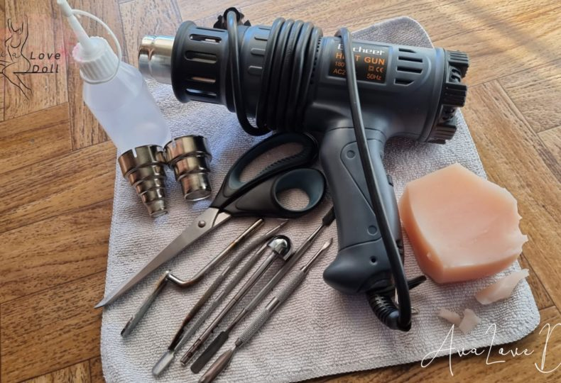 Pistolet thermique TPE Outils Sculpture Huile paraffine